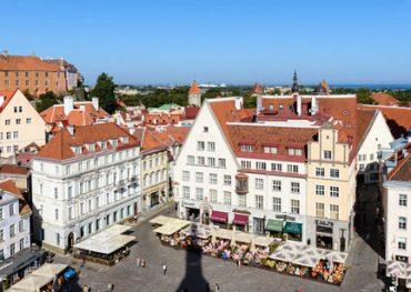 Tur 1 till fots i Tallinn